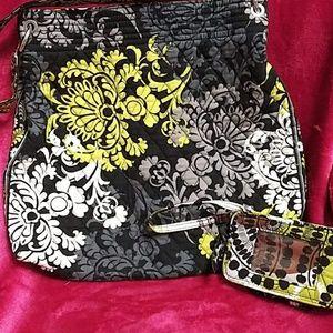 Vera Bradley tote and wallet